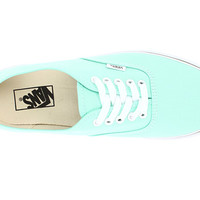 Vans Authentic™ Placid Blue/True White - Zappos.com Free Shipping BOTH Ways