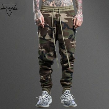 qiyif Casual Pants Camouflage Tactical Three Color Men Joggers