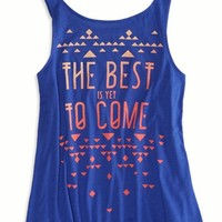 AEO Factory Women's Swing Tank (Electric Cobalt)