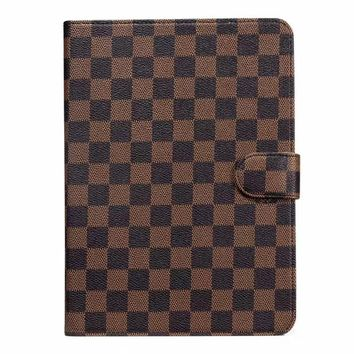 LV Damier IPAD Protective Case - Brown