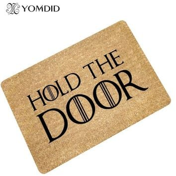 Autumn Fall welcome door mat doormat Simple fashion modern  absorbent non-slip Bathroom Kitchen stair Carpets s  rug  for Living Room home  decor AT_76_7
