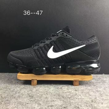 2018 Nike Air VaporMax cdg Airmax Black/White Sport Shoe US5.5-13
