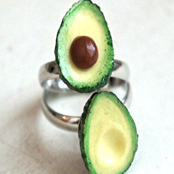 Avocado Friendship Rings
