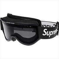 Supreme Ski Goggles Black/Red Smith Collaboration Cariboo OTG mask for skiing