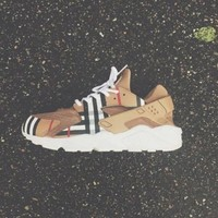 NIKEAIR Custom Burberry Huaraches Running Sport Casual Shoes Sneakers One-nice™