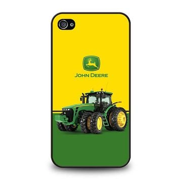 JOHN DEERE WITH TRACTOR iPhone 4 / 4S Case Cover