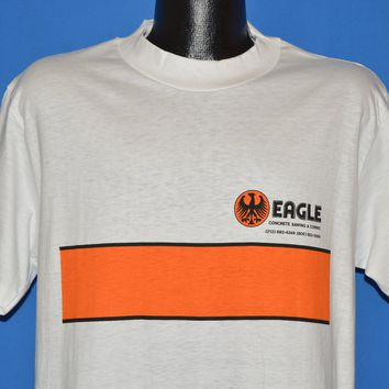 80s Eagle Concrete Sawing Deadstock t-shirt Large