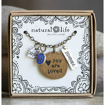 YOU ARE LOVED TOKEN NECKLACE