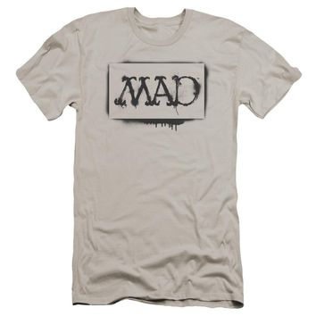 Mad - Stencil Premuim Canvas Adult Slim Fit 30/1