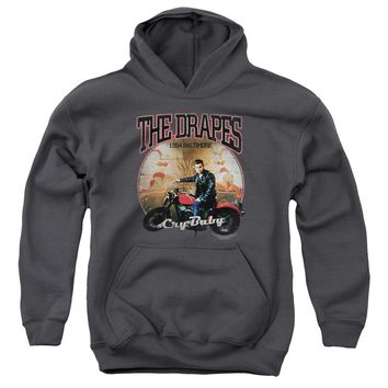 Cry Baby - Drapes Youth Pull Over Hoodie