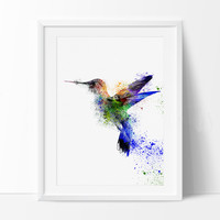 Watercolor Bird, Watercolor painting, Art print, Home decor, Bird painting, Bird wall art, Watercolor Art Poster, FineArtPrint, wall art(47)