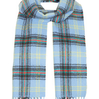 **Bell Of Border Locharron Check Scarf