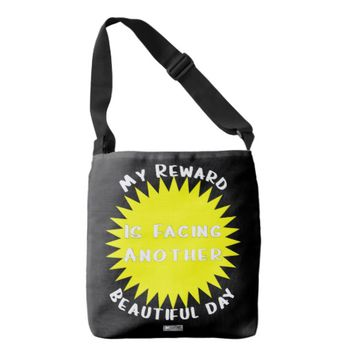 Reward Quote by Kat Worth Crossbody Bag