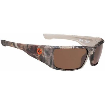 Spy Dirk Realtree Sunglasses  Happy Lens Polarized Bronze