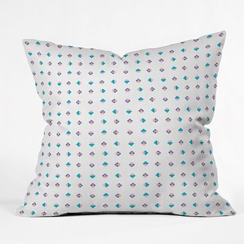 Laura Redburn Pastel Arrows Throw Pillow