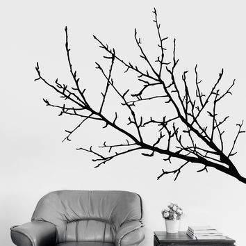Vinyl Wall Decal Tree Branch Nature Art Decor Rooms Design Stickers Unique Gift (772ig)