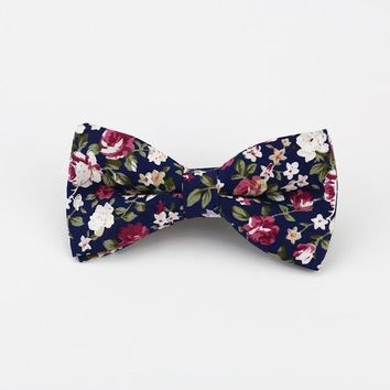 Bow Ties  Floral Neckwear