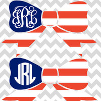 Monogram Mason Jar Hey Y'all Decal