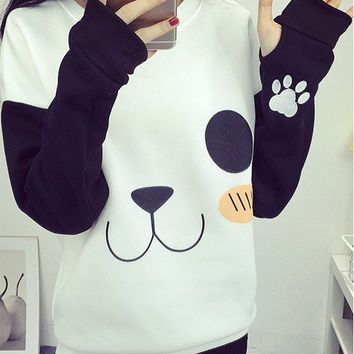 Hot Deal On Sale Hoodies Print Patchwork Embroidery Vibrator [7976013953]