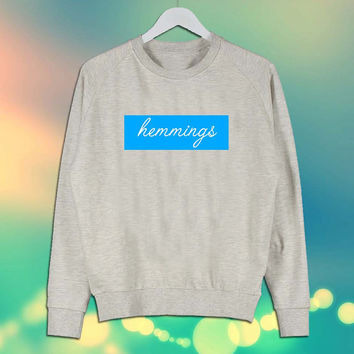 Luke Hemmings 5 Seconds of Summer Shirt Sweater Sweatshirt Unisex Size