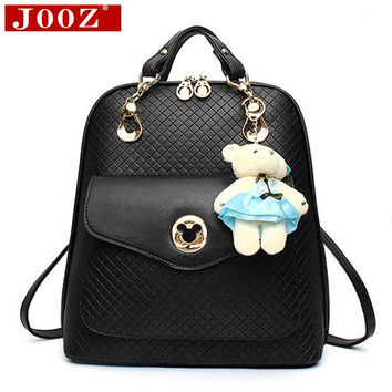 Mickey icon Ladies Casual travel Backpacks Women Leather backpack Famous Brand preppy style girls School Bags Mochila Feminina