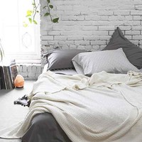 4040 Locust Waffled Bed Blanket-