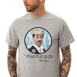 The Coming To America Tee in Heather Grey