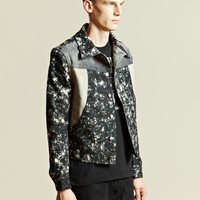 Gosha Rubchinskiy Men's Woven Denim Jacket
