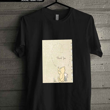 classic winnie the pooh and piglet T-SHIRT FOR MAN SHIRT,WOMEN SHIRT **