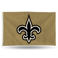 New Orleans Saints NFL 3ft x 5ft Banner Flag
