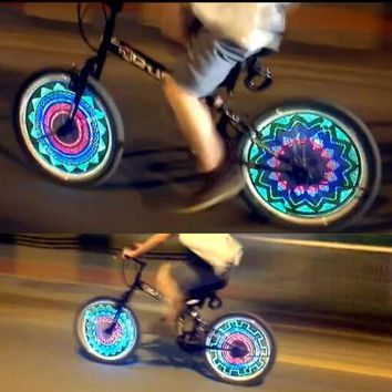 Bicycle Hot Wheels 36 LED Flash Tyre Wheel Valve Cap Light for Bicycle Bicycle Decoration Wheel Light Tire Light Christmas Gift