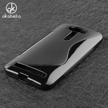AKABEILA Case For Asus Zenfone GO 2nd Gen ZB452KG ASUS_X014D ZB450KL 4.5 inch Case Cover Rubber Protective Shield Capa Shell