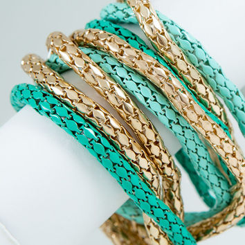 Multi Strand Stretch Bracelet