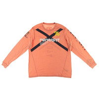 Reebok Mens Long Sleeve Fitted Graphic Tee