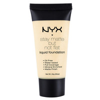 Stay Matte Not Flat Liquid Foundation | NYX Cosmetics