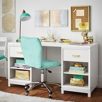 Rowan Cubby Storage Desk