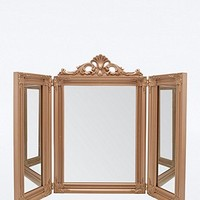 Ornate Mirror in Bronze - Urban Outfitters