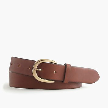 Women's Classic Leather Belt - Women's Accessories | J.Crew
