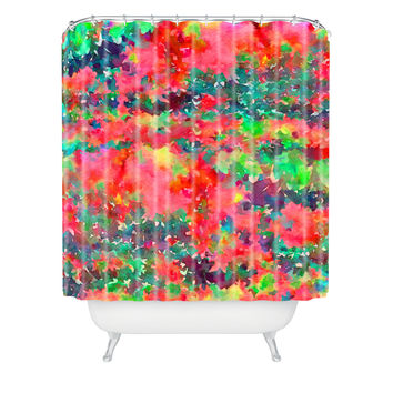 Jacqueline Maldonado Wild At Heart 1 Shower Curtain