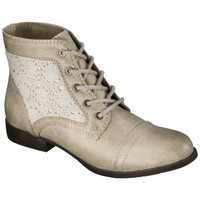 Women's Mossimo Supply Co. Kessi Crochet Boots - Taupe
