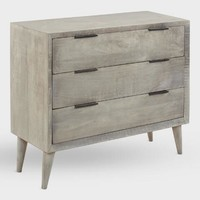Graywash Barton Storage Chest of Drawers