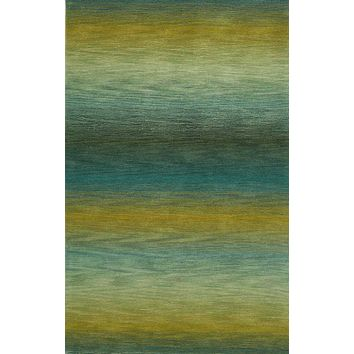 Trans Ocean Ombre Stripes Multi Area Rug