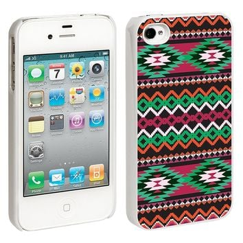 Exotic Tribal iPhone 4/4S Hard Shell Case - White