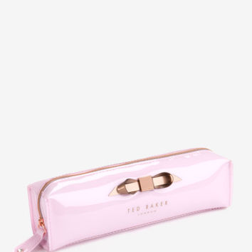 Slim bow pencil case - Baby Pink | Gifts for Her | Other Europe Site