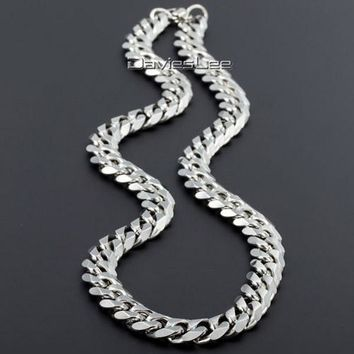 Men's Stainless Steel Curb Link Necklace Chain