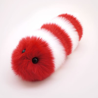 Peppermint the Snuggle Worm Stuffed Animal Plush Toy