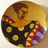 Hand Painted plate #22