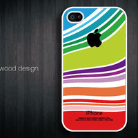 iphone in case iphone cover iphone four cases unique case iphone 4 or 4s case colorized curve design