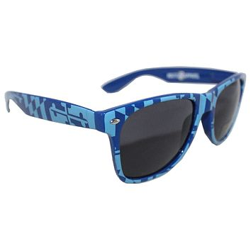 Blue Maryland Full Flag / Shades