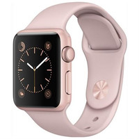 Apple Watch Series 1 38mm Smartwatch (Rose Gold Aluminum Case, Pink)